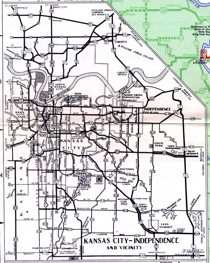 Missouri Highways unofficial