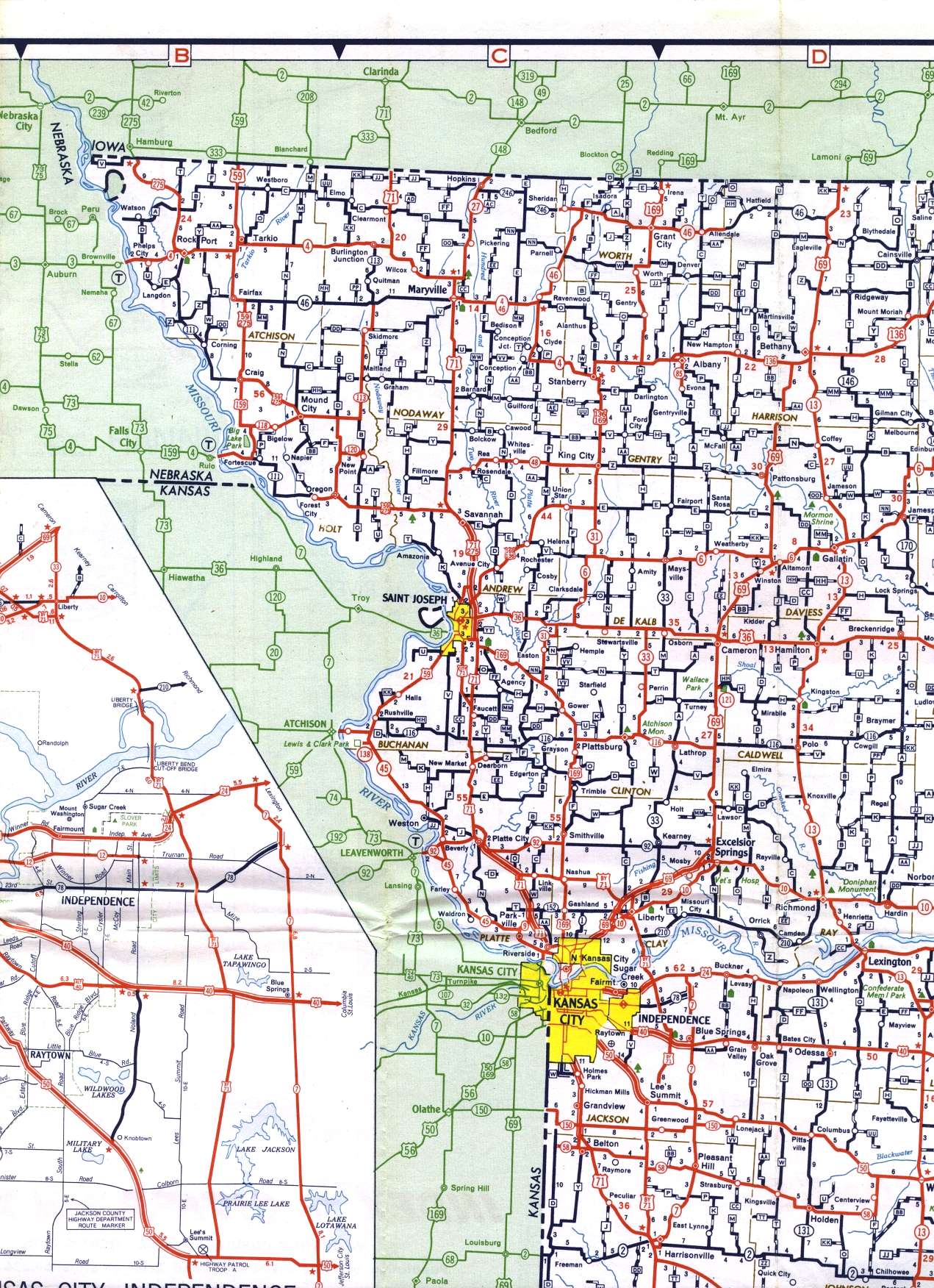 kansas map with cities and highways with Nw Corner on Arkansas besides Republican River Drainage Basin Landform Origins Colorado Nebraska And Kansas Usa Overview Essay additionally Missouri map additionally California Railway Map also Rhode Island.